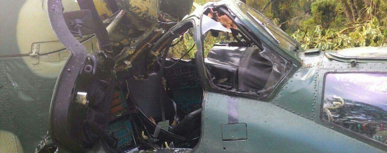 У мережі з'явилися фото з місця аварії літака в Конго з українцями на борту
