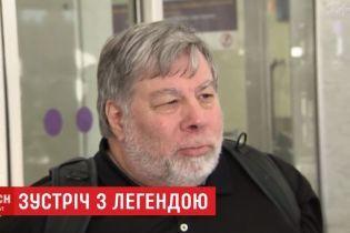 Завжди знав, що маю українське прізвище: співзасновник Apple Возняк відвідав Київ