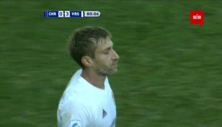 Черноморец - Ворскла - 0:3. Видео гола Коломойца