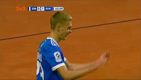 Заря - Динамо - 0:2. Видео гола Буяльского