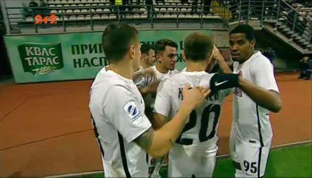 Заря - Динамо - 4:4. Видео гола Опанасенко