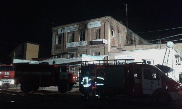 У Запоріжжі під час пожежі в хостелі загинули п'ятеро людей