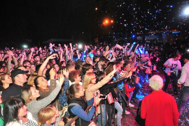 Урочисте відкриття Sport Life в Полтаві зібрало 50 тисяч городян