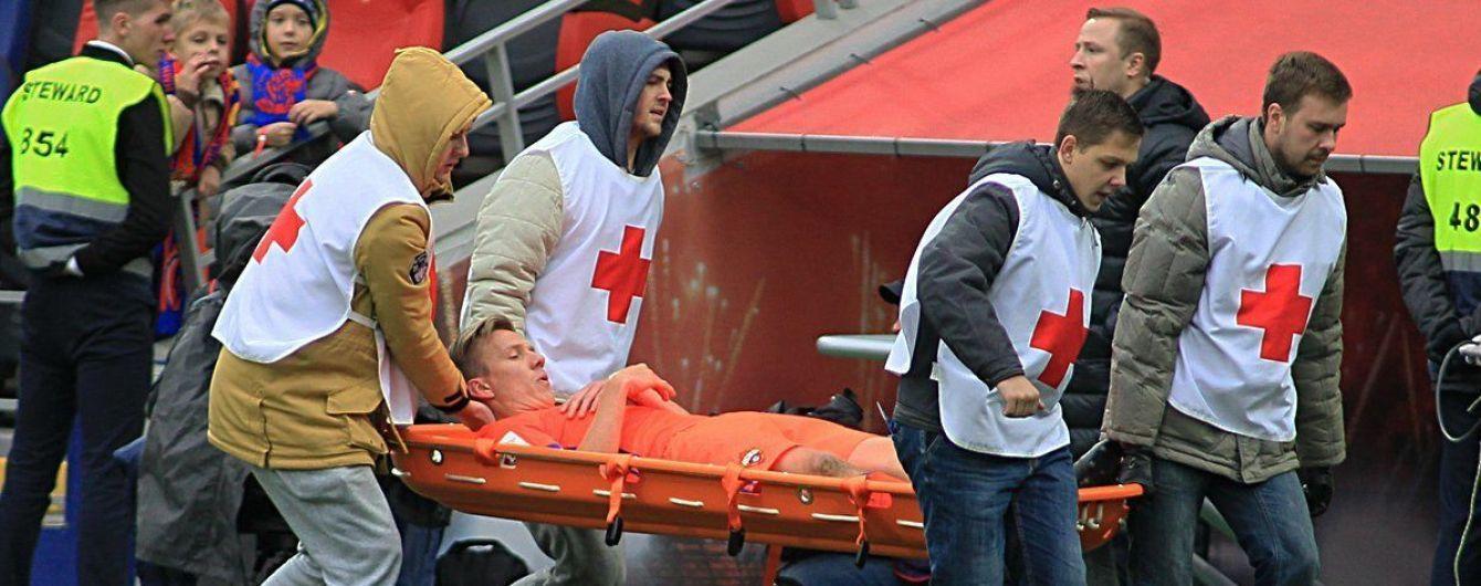 Футболист российского клуба получил ужасную травму