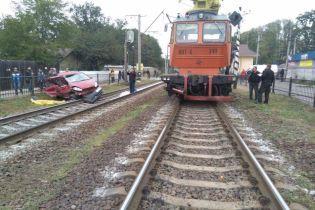 ДТП з потягом на Київщині: свідки запевняють, що шлагбаум не спрацював