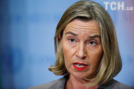 """Могеріні наполягає, аби російський """"Газпром"""" виконував договірні зобов'язання перед Україною"""