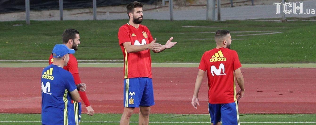 Вболівальники збірної Іспанії образили футболіста, який віддав свій голос за незалежність Каталонії