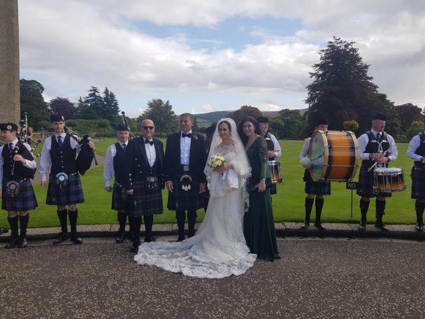 Бывшая депутатка-коммунистка Оксана Калетник вышла замуж за шотландца