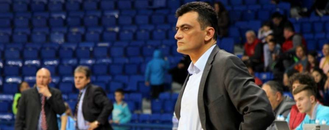 Женская сборная Украины по баскетболу в третий раз за последние два месяца сменила главного тренера