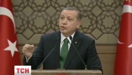 Ердоган не вибачався перед Путіним за збитий літак