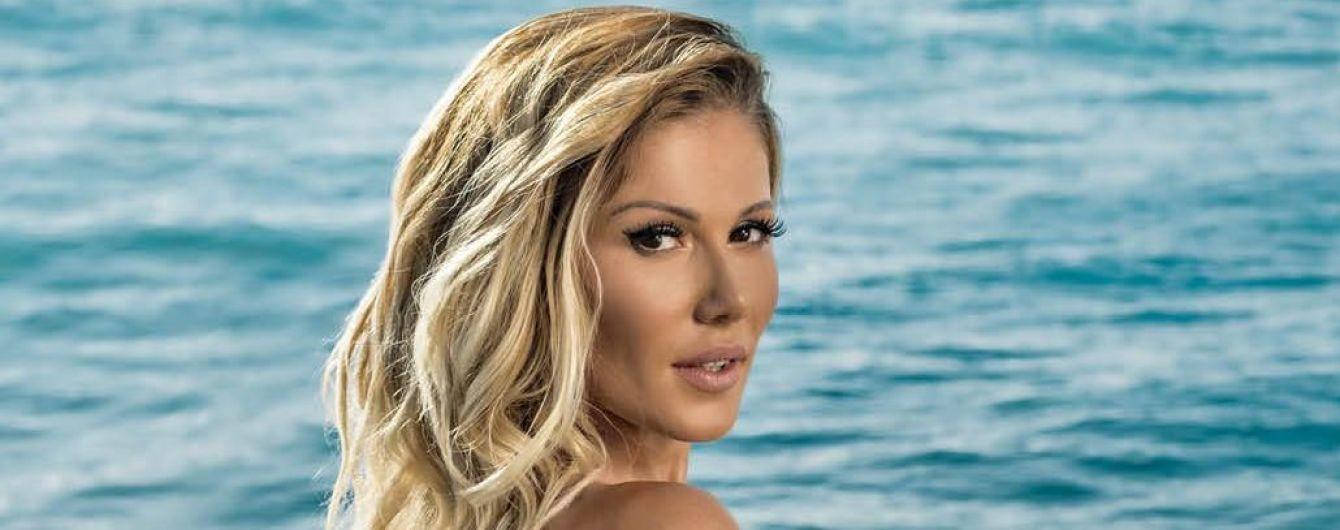 Сексуальная Алена Омаргалиева топлес снялась для мужского глянца