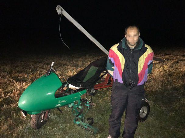 На Буковине за нарушение границы задержали пилота дельтаплана