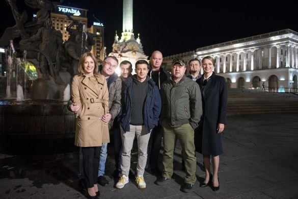 """""""Слуга народу"""" на Майдані Незалежності_4"""