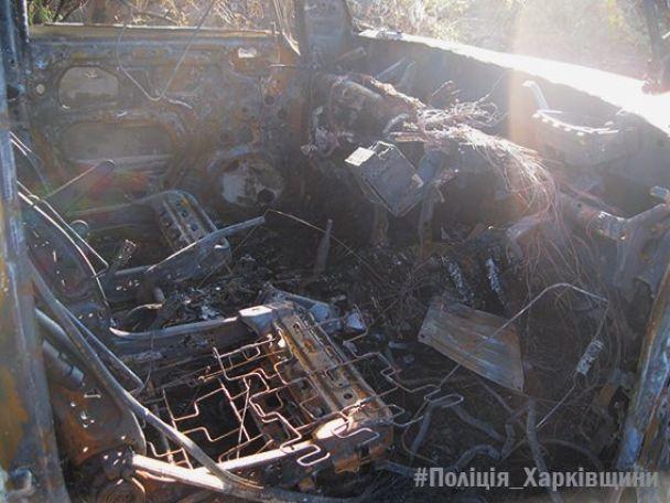 На Харківщині невідомі обстріляли з гранатомета іномарку з водієм