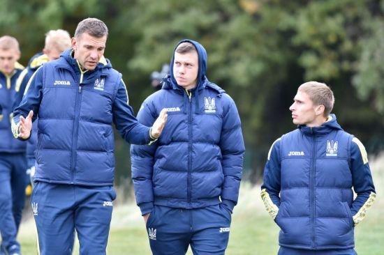 Футболістам збірної України пообіцяли премію за перемогу над Хорватією