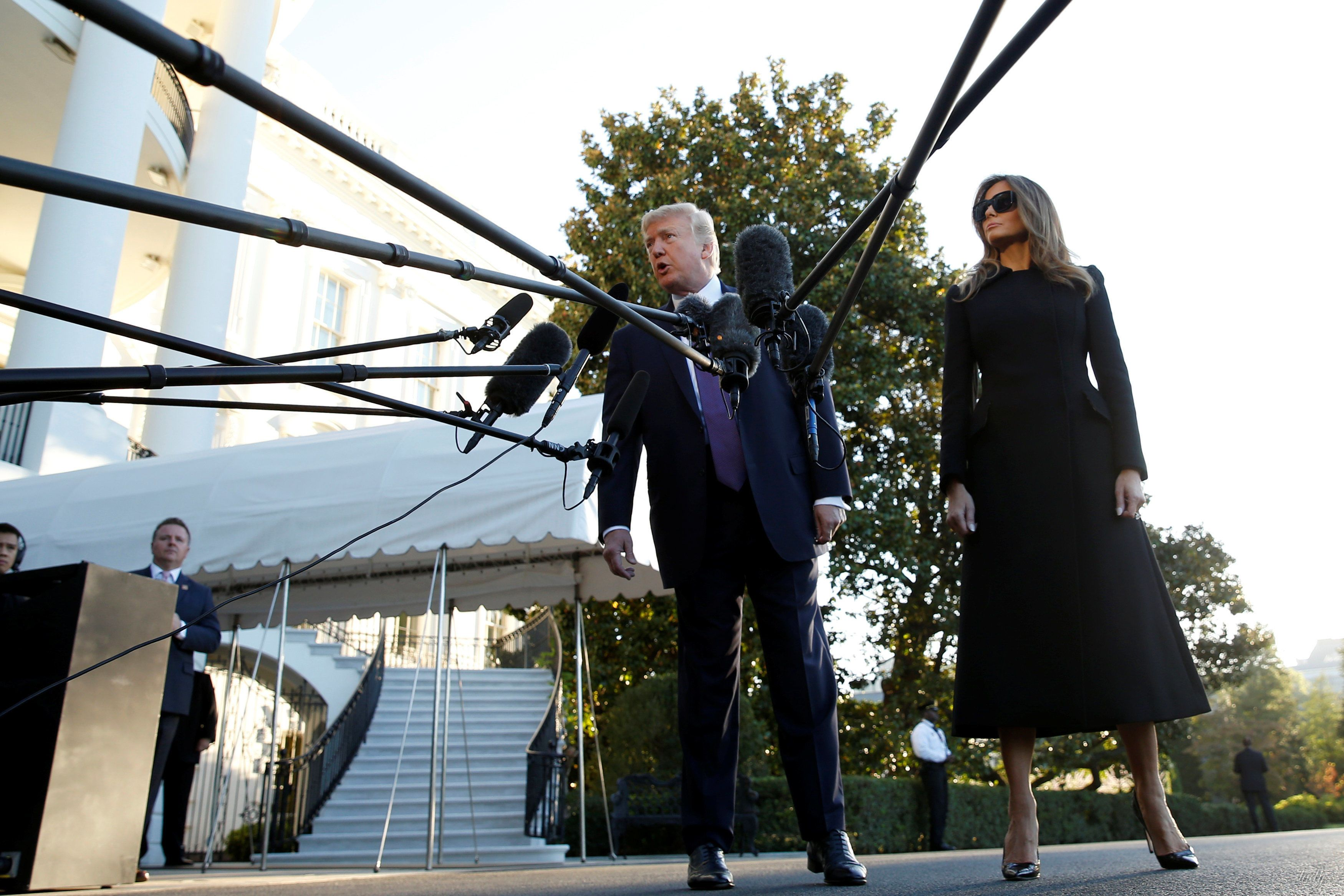 Мелания и Дональд Трамп_3