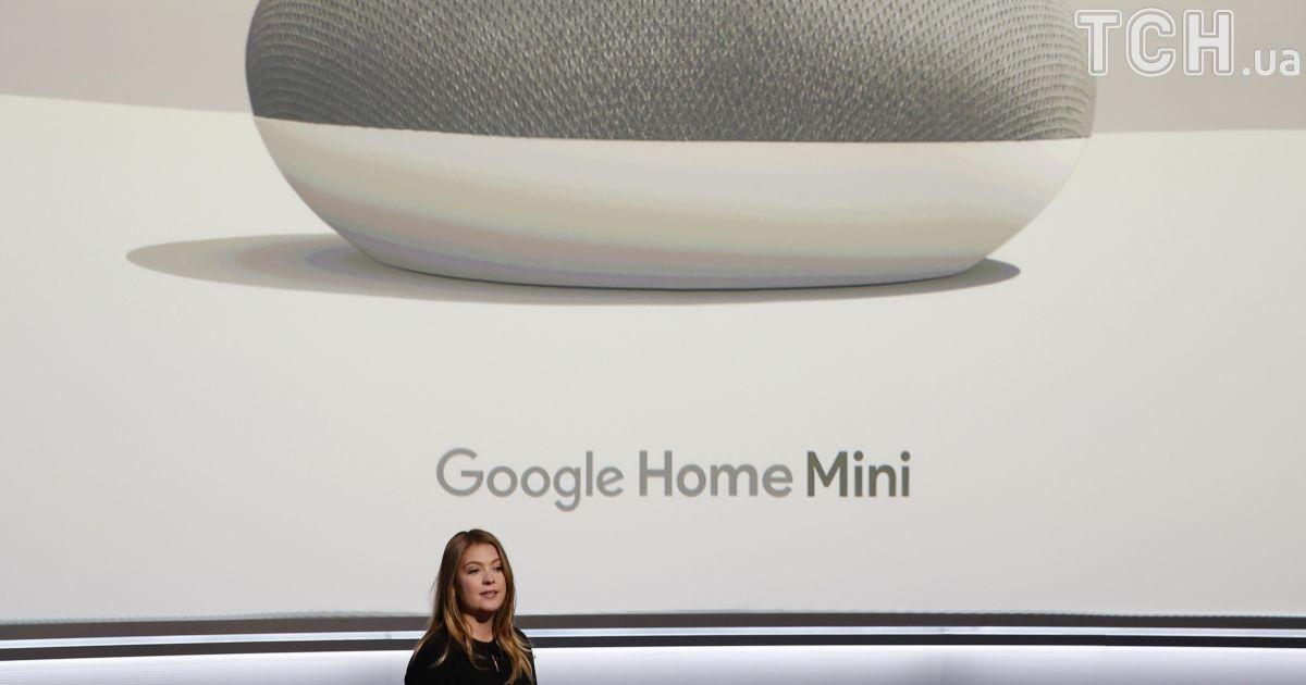 Колонка Google Home Mini стоит всего 49 долларов. @ Reuters