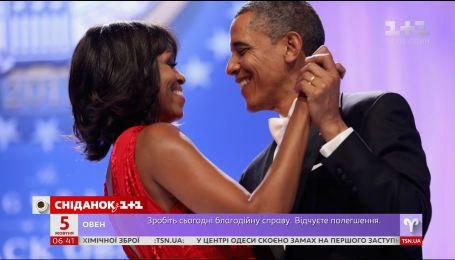 Барак и Мишель Обама трогательно поздравили друг друга в годовщину свадьбы