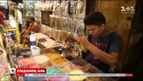 Мой путеводитель. Шарм-эль-Шейх - местный базар и рисунки из песка