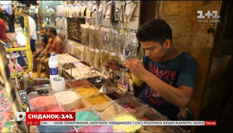 Мій путівник. Шарм-ель-Шейх – місцевий базар та малюнки з піску