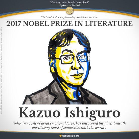 Нобелівську премію з літератури отримає британець Кадзуо Ісіґуро