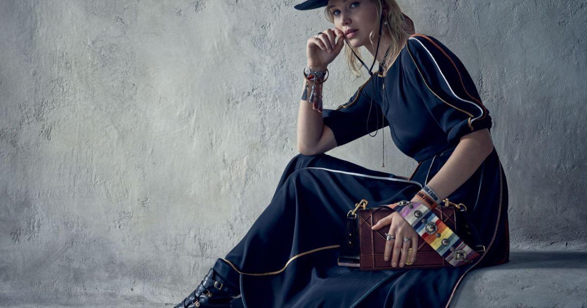 Дженнифер Лоуренс позировала для Dior @ dior.com