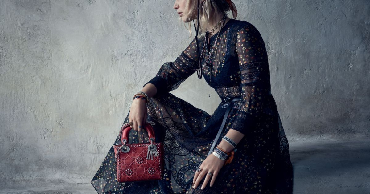 Дженніфер Лоуренс позувала для Dior @ dior.com