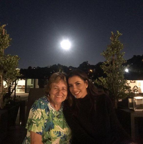 Ева Лонгория с мамой