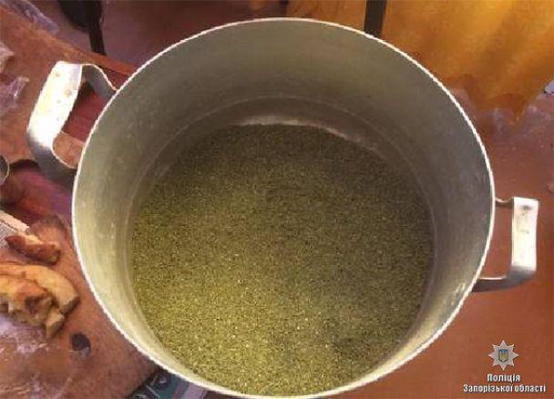 На Запоріжжі вилучили 25 кілограмів наркотиків вартістю у декілька мільйонів гривень