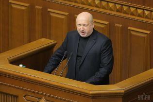 Турчинов анонсировал разрешение на прямой импорт военной техники и оружия в Украину