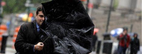 Опасная стихия: ветер повырывал деревья в Трускавце, есть пострадавшие