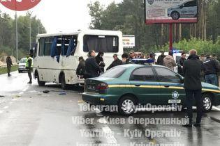 Смертельная авария с нацгвардейцами под Киевом. Водитель маршрутки не имел права выезжать на маршрут