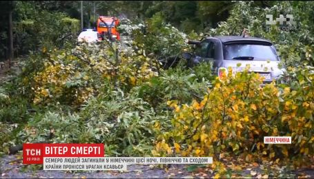 "Ураган ""Ксавьер"" в Германии унес жизни семи человек"