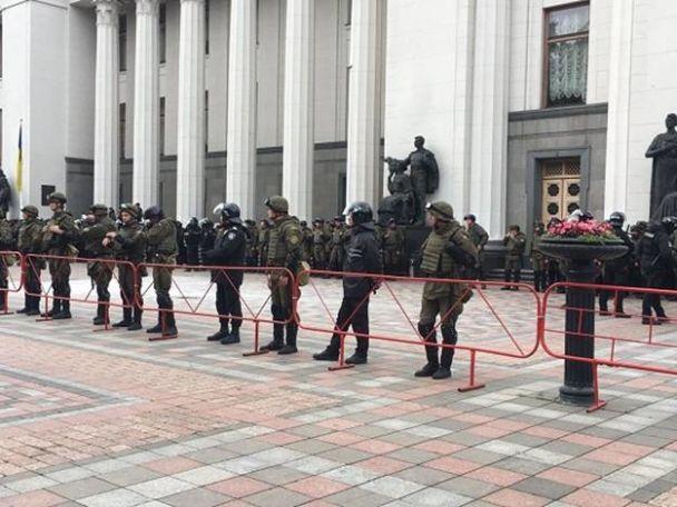 За столкновения под Радой полиция составила админпротоколы