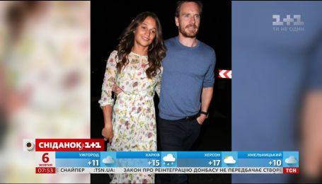 Алисия Викандер и Майкл Фассбендер готовятся к свадьбе