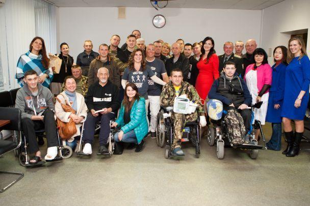 Легендарний американський ветеран Шайло Гарріс прибув в Україну, щоб підтримати наших героїв та їхні родини