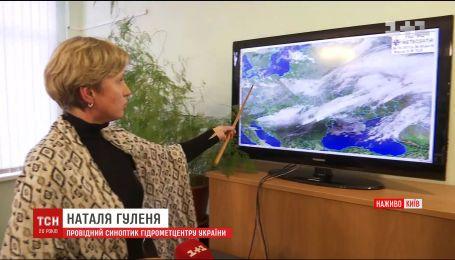 Синоптики запевняють, що буревію у столиці не буде