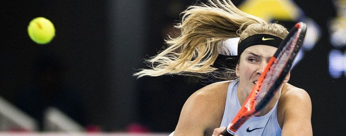 Свитолина в напряженном матче не смогла выйти в полуфинал турнира в Пекине