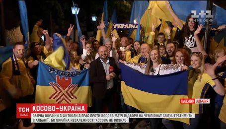 Несколько сотен людей ехали трое суток в Албанию, чтобы поддержать украинскую сборную