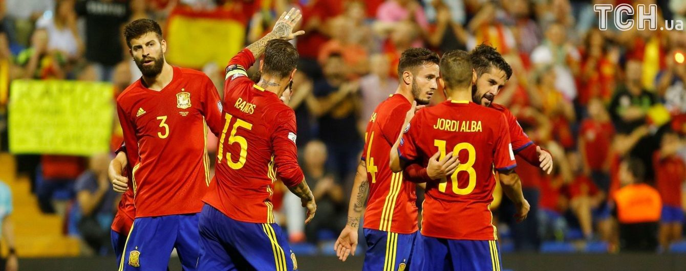 Збірна Іспанії розгромила албанців і вийшла на ЧС-2018