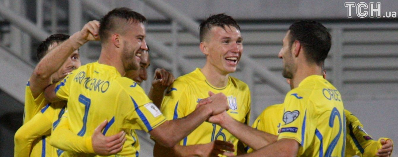 Футболисты сборной Украины получат солидные премиальные в случае победы над Хорватией