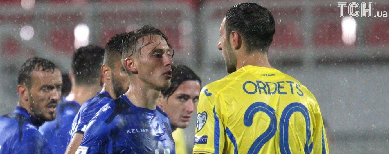 Ордець та Кравець не допоможуть збірній в матчі проти Хорватії
