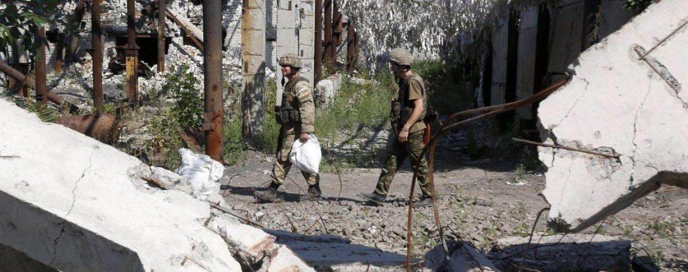 """""""Школьное перемирие"""": боевики возле Марьинки ранили украинского военного"""
