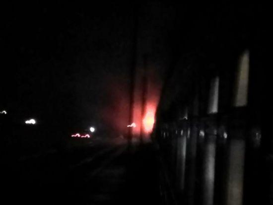 На Миколаївщині спалахнув пасажирський поїзд