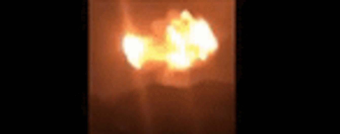 В Гане в результате взрыва газовой станции в небо взметнулся гигантский огненный шар