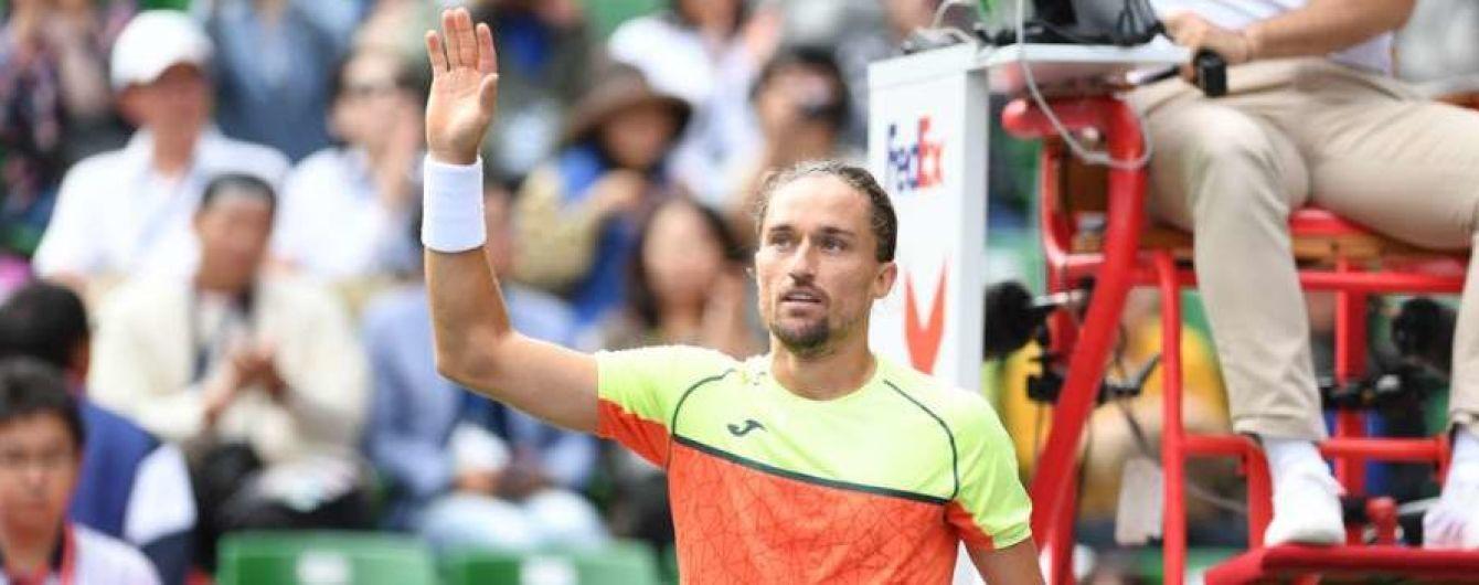 Долгополов з труднощями подолав фінал кваліфікації та вийшов до основної сітки турніру в Шанхаї