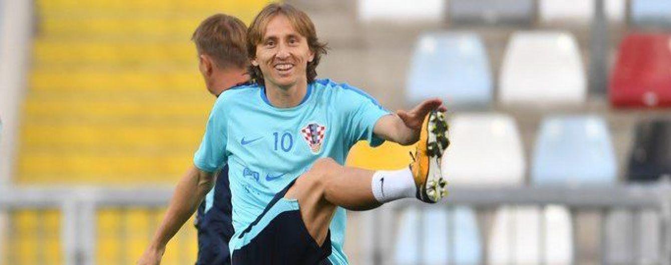 Футболисты сборной Хорватии обеспокоены ситуацией, которая сложилась перед игрой против Украины