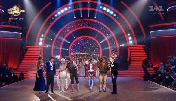 Танці з зірками шоу результатів