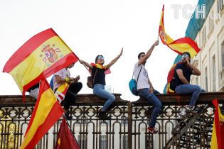 У Барселоні проходить багатотисячний мітинг проти незалежності Каталонії