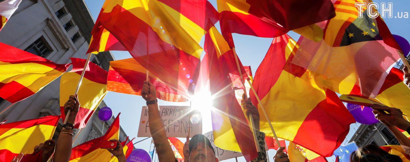 Парламент Каталонии отложил на час возможное объявление независимости